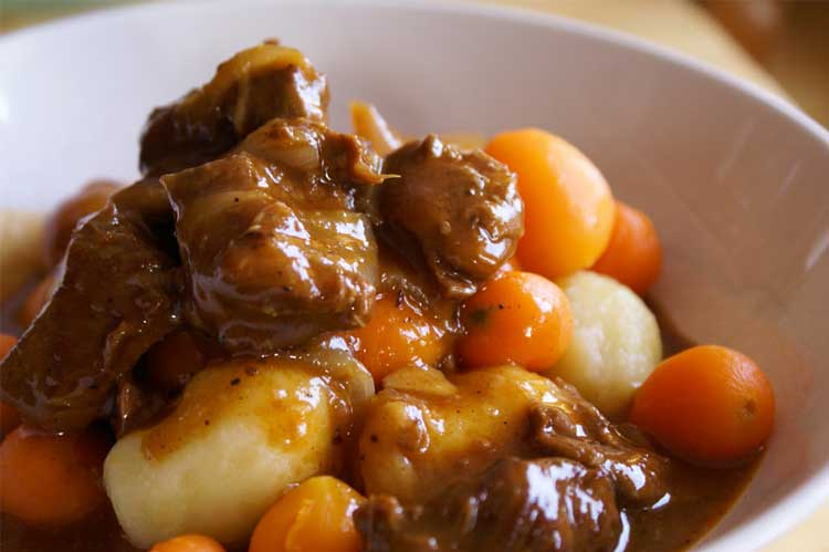 beef stew with dumpling recipe