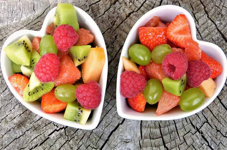 tequila lime fruit salad