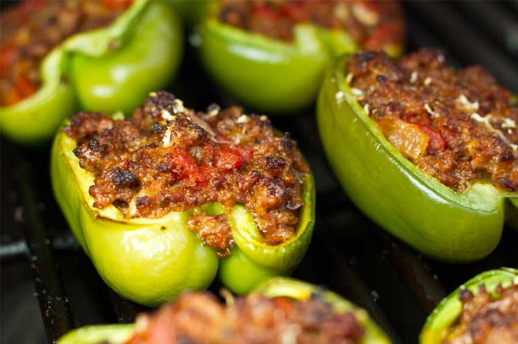 meat stuffed peppers