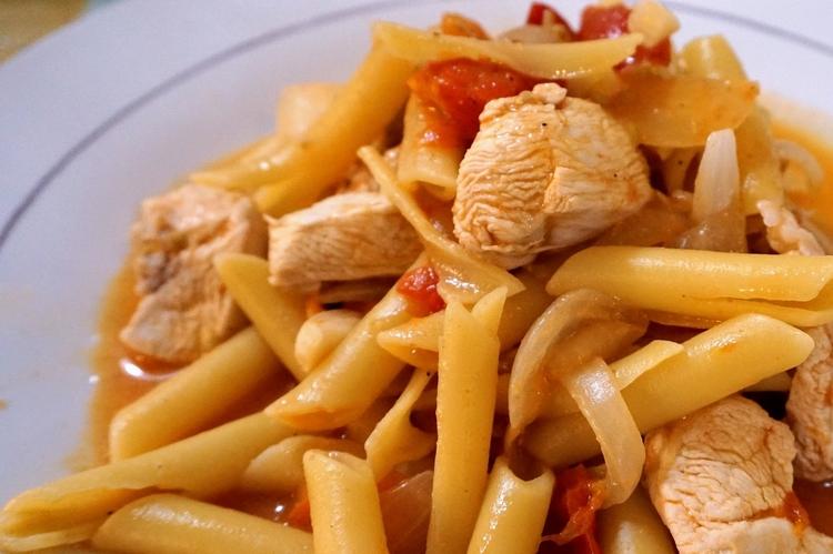 Healthy Pasta with Chicken Recipe
